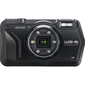 Ricoh WG-6 20MP Underwater Digital Camera (Black)