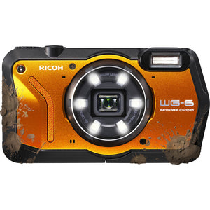 Ricoh WG-6 20MP Underwater Digital Camera (Orange)