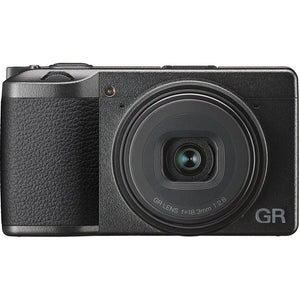 Ricoh GR III Digital Compact Camera, 24mp, 28mm f 2.8 Lens with Touch Screen LCD (GR3)