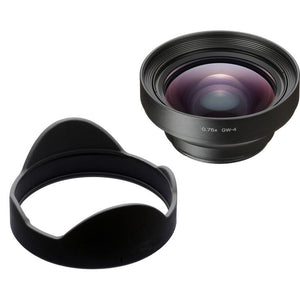 GW-4 Wide Conversion Lens for GR III Digital Compact Camera - The Camera Box