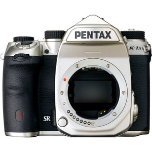 Pentax K-1 Mark II DSLR Camera (Silver Edition) with FREE matching Battery Grip