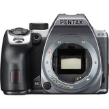 Pentax K-70 24.24MP APS-C CMOS Sensor Weather-Resistant DSLR Camera, Body Only (Silver)