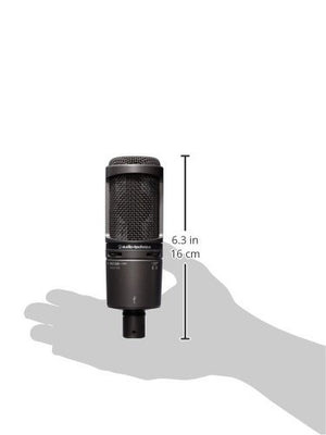 Audio Technica AT2020USBPLUS Deluxe USB Cardioid Condenser Microphone - The Camera Box