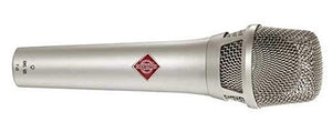 Neumann KMS 105 Live Vocal Condenser Microphone (Nickel) - The Camera Box