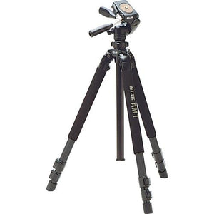 Slik Pro 700DX Tripod With Pan and Tilt Head (Black) 615-316