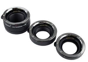 Kenko Auto Extension Tube Set DG for Canon EOS Lenses A-EXTUBEDG-C - The Camera Box