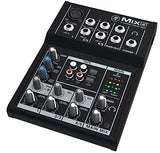 Mackie Mix5 - 5-Channel Compact Mixer - The Camera Box