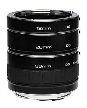 Kenko Auto Extension Tube Set DG for Canon EOS Lenses A-EXTUBEDG-C