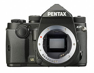 "Pentax KP 24.32 Ultra-Compact Weatherproof DSLR with 3"" LCD - Body Only (Black) - The Camera Box"
