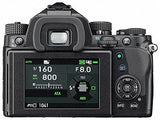 Pentax KP 24.32 Ultra-Compact Weatherproof DSLR Camera (Body Only, Black) with Pentax AF360FGZ II Flash
