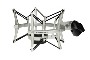 Neumann EA 4 Elastic Suspension Shockmount (Nickel) - The Camera Box