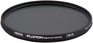 Hoya FUSION Antistatic Circular Polarizer Filter (37mm)