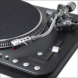 Audio-Technica Consumer AT-LP1240-USB XP Professional DJ Direct-Drive Turntable (USB & Analog) with AT-XP5 Cart - The Camera Box