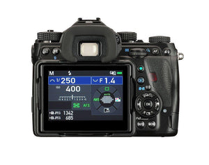 "Pentax K-1 Mark II 36MP Weather Resistant DSLR with 3.2"" TFT LCD, Body Only, Black"
