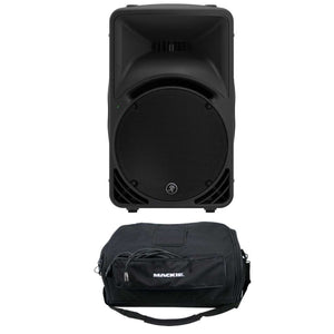 Mackie SRM450v3 1000 Watts High-Definition Portable Powered Loudspeaker with Carrying Bag - The Camera Box