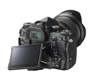 Pentax K-1 Mark II 36MP Weather Resistant DSLR w/ D-FA 28-105 WR Lens (Black) Includes Sling Bag & Strap - The Camera Box