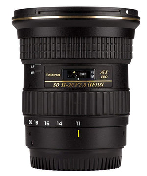 Tokina AT-X 11-20mm f/2.8 PRO DX Lens for Canon EF ATXAF120DXC