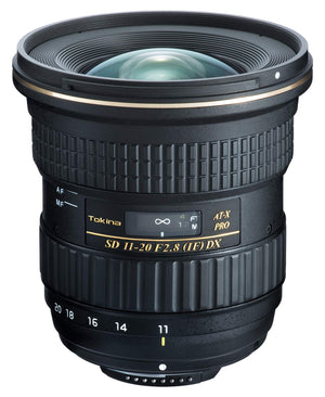 Tokina AT-X 11-20mm f/2.8 PRO DX Lens for Nikon F ATXAF120DXN