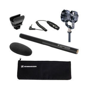 Sennheiser MKE 600 Shotgun Mic + Audio-Technica AT8415 Shock Mount + KA Cable
