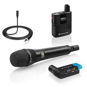Sennheiser AVX Camera-Mountable Digital Wireless Handheld and Lavalier Combo set - AVX-COMBO SET-4-US