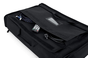 "Gator Cases Padded Nylon Carry Tote Bag for Transporting LCD Screens, Monitors and TVs Between 19"" - 24""; (G-LCD-TOTE-SM) - The Camera Box"