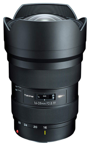 Tokina opera 16-28mm f/2.8 FF Lens Canon EF Mount