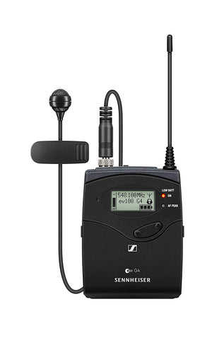 Sennheiser ew 100 G4-ME 4 Wireless Bodypack System with ME 4 Cardioid Lavalier Microphone A1: (470 to 516 MHz)