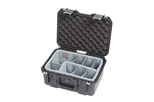 SKB Cases iSeries 1309-6 Case with Think Tank Designed Photo Dividers, Black (3i-1309-6DT)