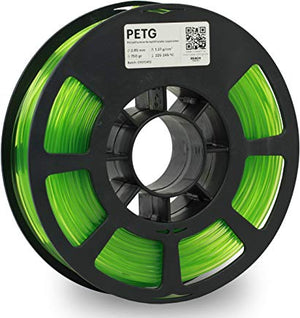 Kodak 3D Printing Filament PETG 2.85 mm (Translucid Green) - The Camera Box