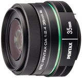 Pentax DA 35mm f/2.4 AL Lens for Pentax Digital SLR Cameras - The Camera Box