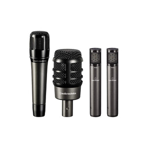 Audio-Technica Artist Series Drum Microphone Set (4-Piece) #ATM-DRUM4