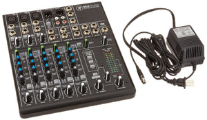 Mackie 802VLZ4 8-Channel Ultra-Compact Mixer - The Camera Box