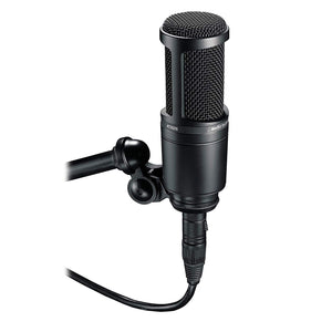 Audio Technica AT2020 Side Address Cardioid Condenser Studio Microphone