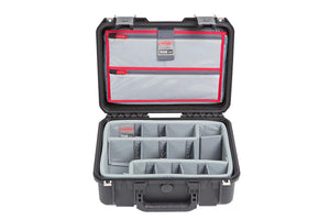 SKB iSeries 1510-6 Case with Think Tank-Designed Photo Dividers & Lid Organizer (Black) 3i-1510-6DL
