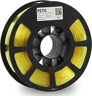 Kodak 3D Printing Filament PETG 2.85 mm (Translucid Yellow) - The Camera Box