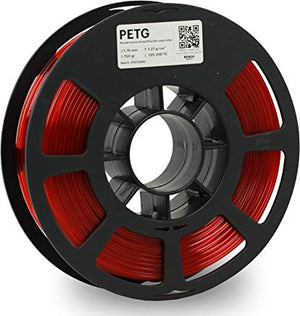 Kodak 3D Printing Filament PETG 1.75 mm (Trasnlucid Red) - The Camera Box
