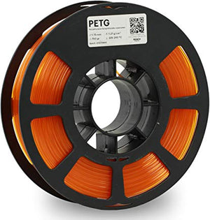 Kodak 3D Printing Filament PETG 1.75 mm (Translucid Orange) - The Camera Box
