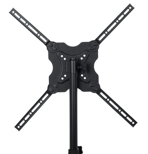 "Gator Frameworks Deluxe Adjustable Quadpod LCD/LED TV Monitor Stand with Lift Piston; Fits Screens up to 65"" (GFW-AV-LCD-25) - The Camera Box"