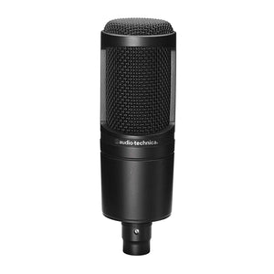 Audio Technica AT2020 Side Address Cardioid Condenser Studio Microphone - The Camera Box