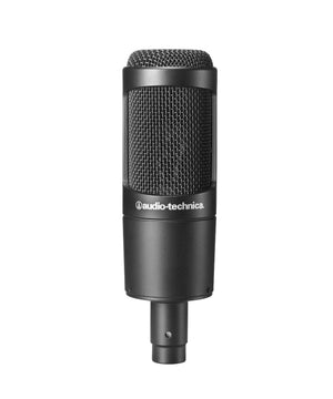 Audio-Technica AT2035PK Vocal Microphone Pack for Streaming/Podcasting with ATH-M20x, Boom & XLR Cable - The Camera Box