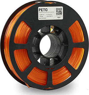 Kodak 3D Printing Filament PETG 2.85 mm (Translucid Orange) - The Camera Box