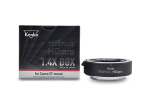 Kenko TELEPLUS HD pro 1.4X DGX Teleconverter for Canon EF Mount - The Camera Box