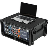 SKB Injection-Molded 4-RU Studio Flyer Rack Case