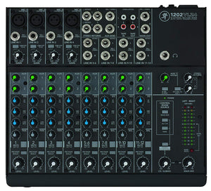 Mackie 1202VLZ4 12-Channel Compact Mixer