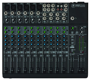 Mackie 1402VLZ4 14-Channel Compact Mixer - The Camera Box