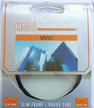 Hoya HMC Ultraviolet UV C Haze Multi-Coated Filter (55mm) - The Camera Box