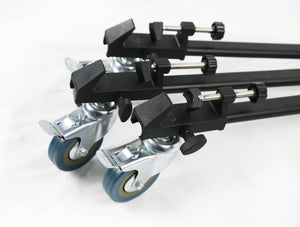 "Redline D3 Universal Folding Tripod Dolly with 3"" Wheels"