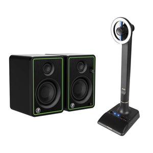 Marantz Professional AVS Audio-Video Streamer with Mackie CR3 Monitor Speaker Bundle - Ideal for streaming, vlogging, video conferencing and more - The Camera Box