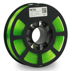 Kodak 3D Printing Filament PETG 1.75 mm (Translucid Green) - The Camera Box