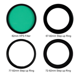 Hoya Grow Light - HPS Filter Kit (82mm) With 3 Step-Up Rings